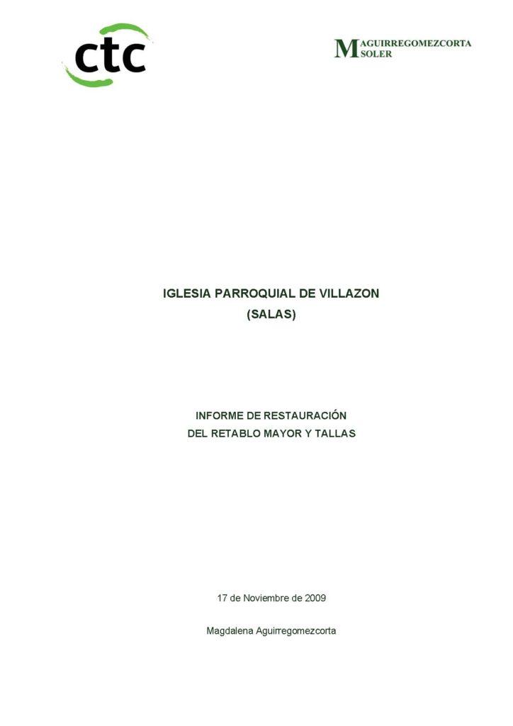 001 INFORME VILLAZON