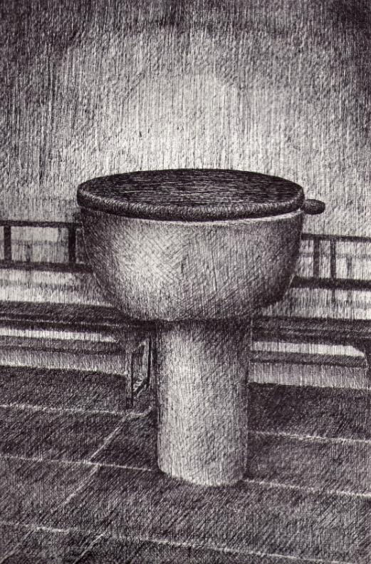 12.- Pila bautismal
