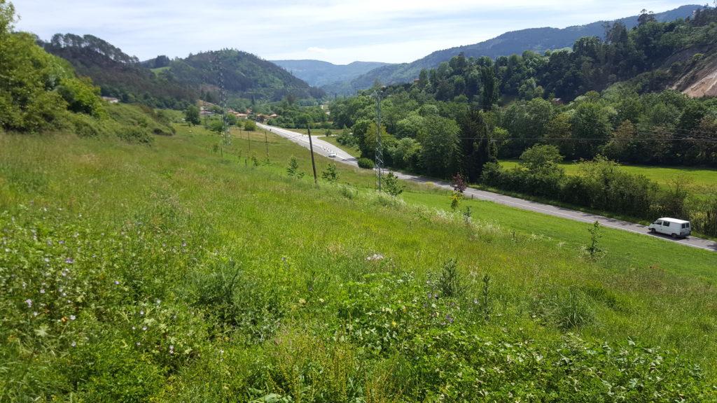 Vista desde Rabadiello hacia Allence