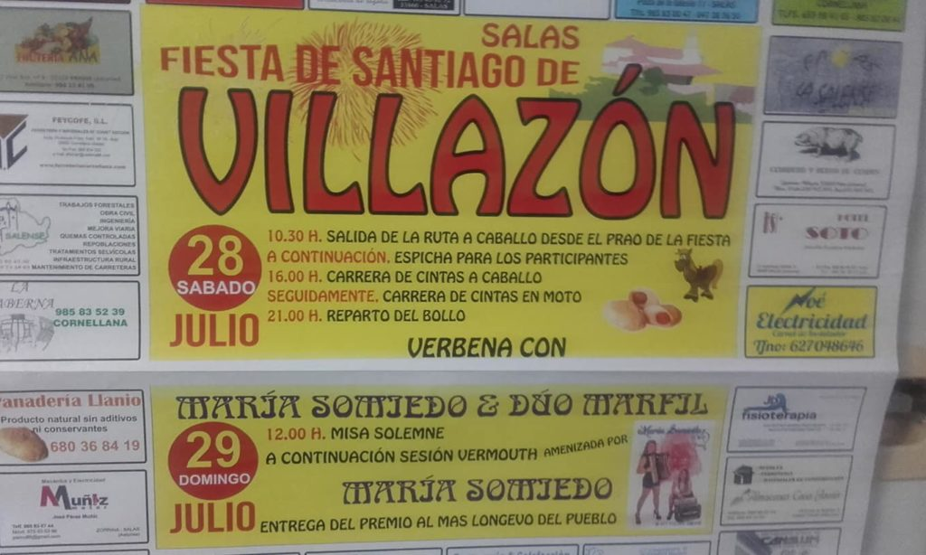 Cartel Fiesta Villazon 2018