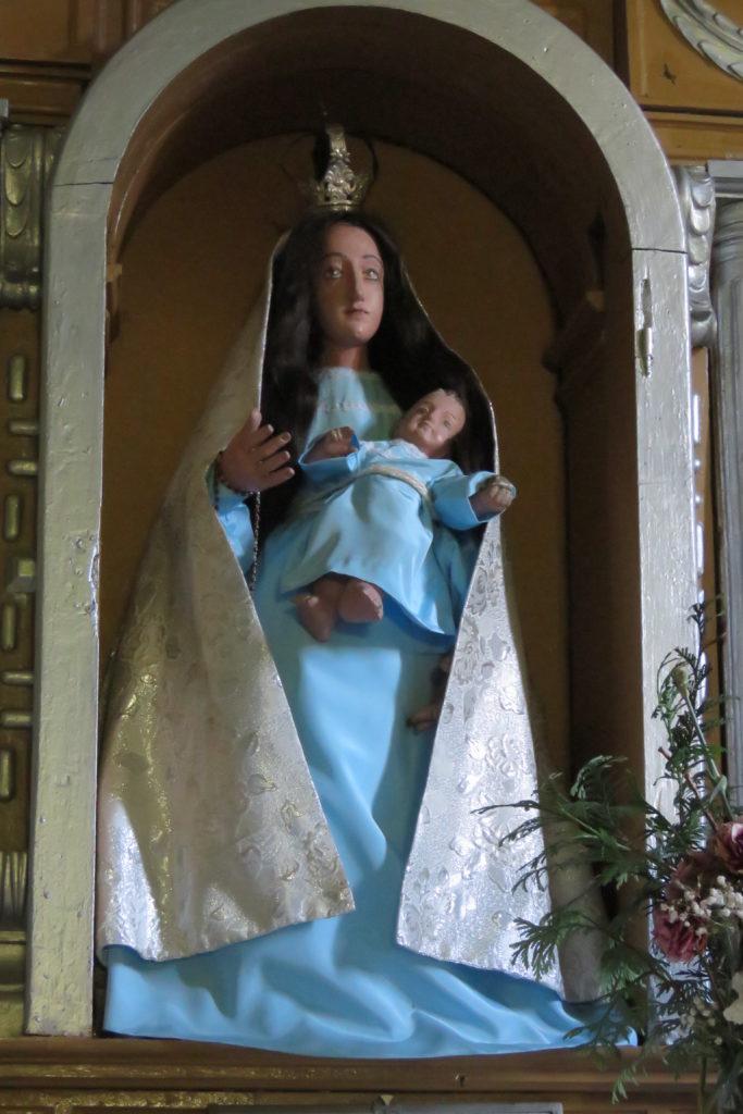 Virgen de los Dolores. Llamas