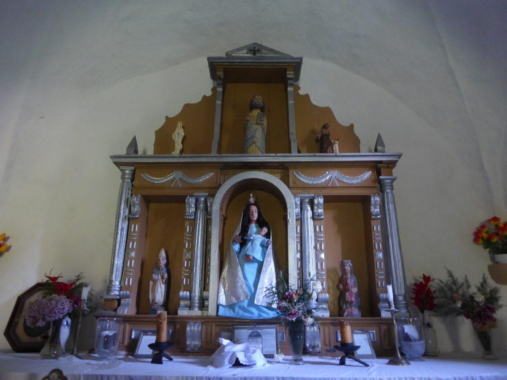 Capilla de los Dolores. Altar.