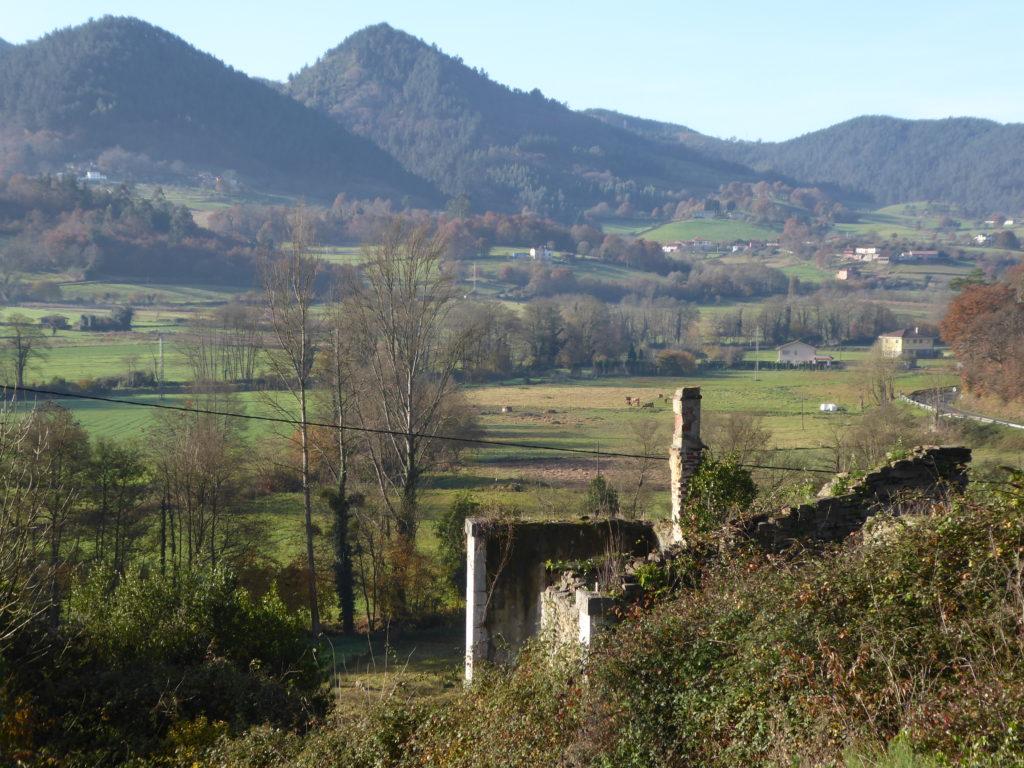 El Arbodal. Al fondo Sierras de Monteagudo y Villarraba