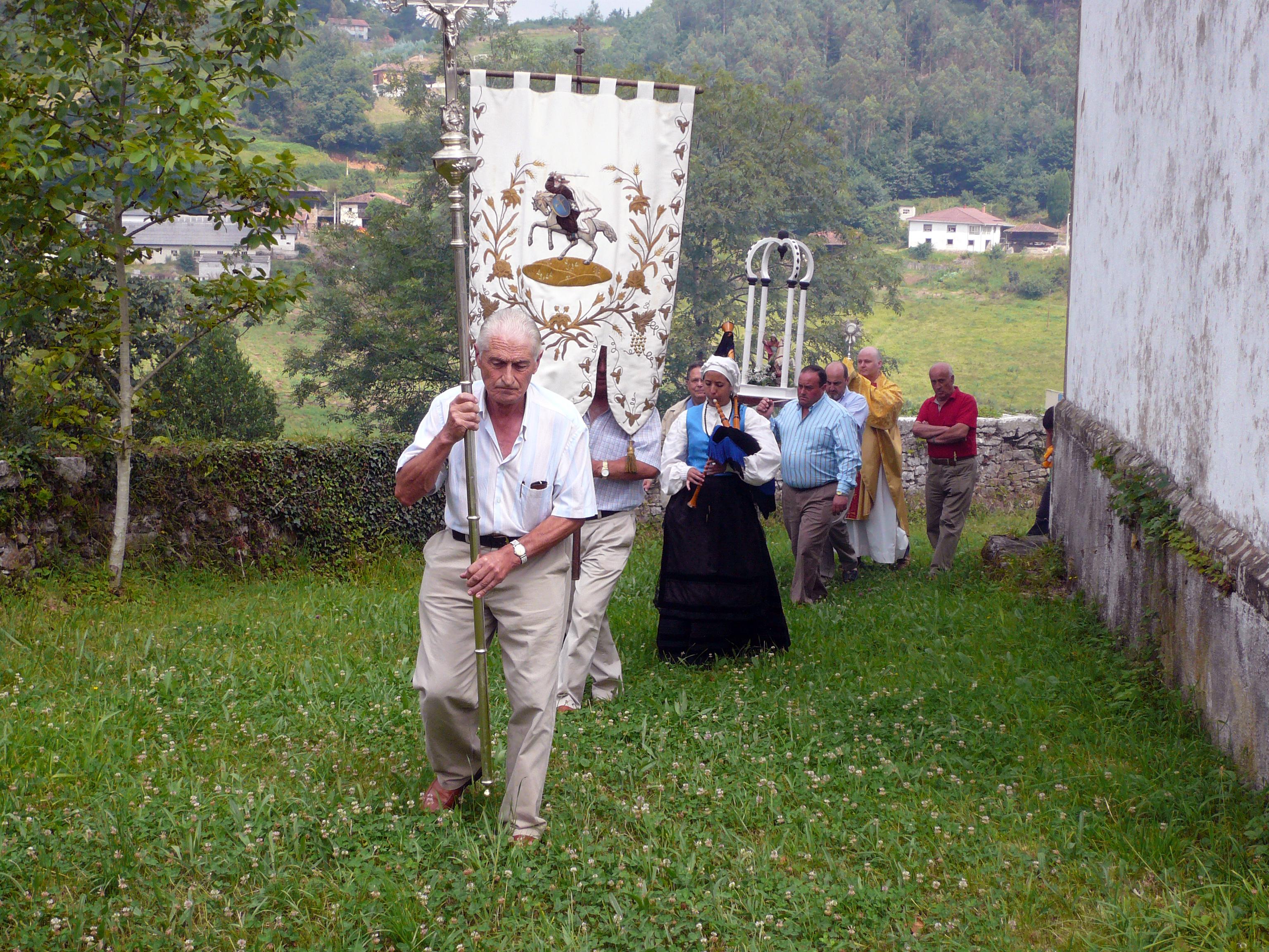 Procesión del Día de Santiago 2009