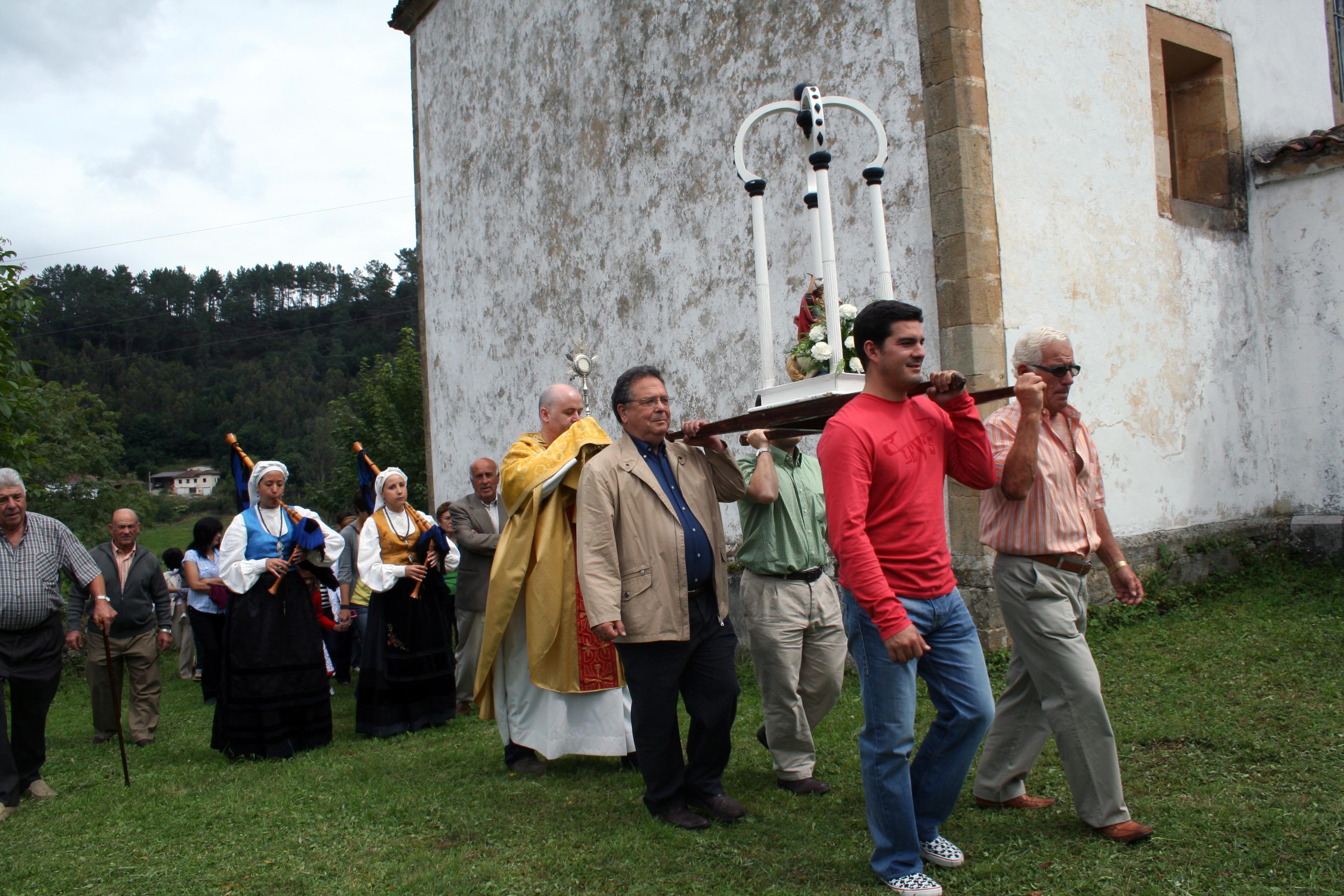 Procesión del día de Santiago de 2012